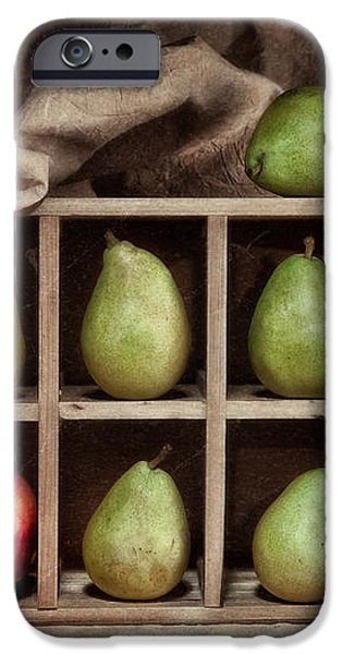Pears on Display Still Life iPhone Case by Tom Mc Nemar