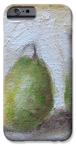 Pears iPhone Case by Venus
