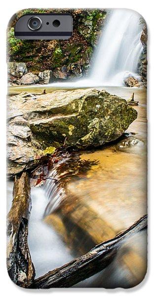 Oak Creek iPhone Cases - Peavine Falls  iPhone Case by Parker Cunningham