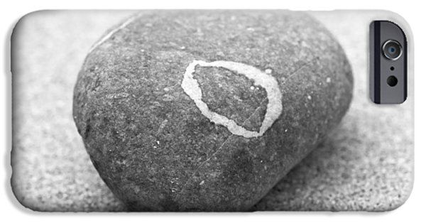 Contemplative Photographs iPhone Cases - Pebble iPhone Case by Frank Tschakert