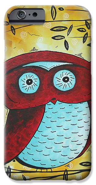 Peekaboo by MADART iPhone Case by Megan Duncanson
