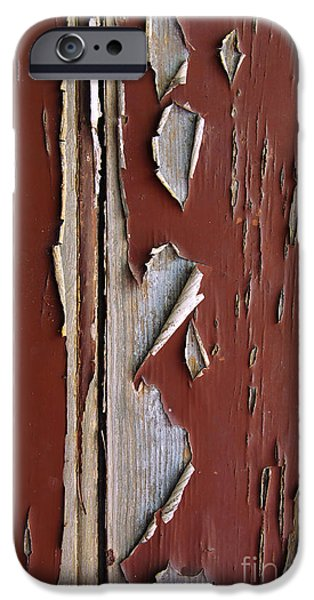 Abuse iPhone Cases - Peeling Paint iPhone Case by Carlos Caetano