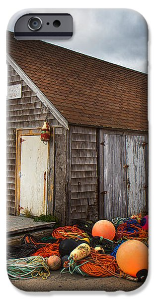 Peggy's Cove 15 iPhone Case by Betsy A  Cutler