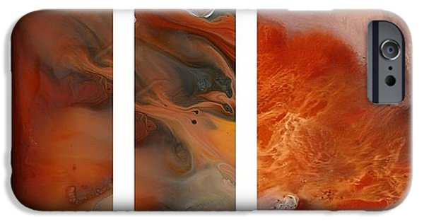 Etc. Paintings iPhone Cases - Peles Fire iPhone Case by Sheila Elsea