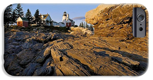 Pemaquid Lighthouse iPhone Cases - Pemaquid Lighthouse iPhone Case by Sean Cupp