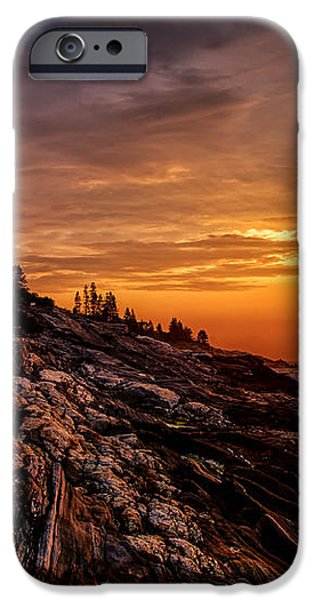 Pemaquid Sunrise  iPhone Case by Jerry Fornarotto