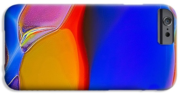 Nature Abstracts Glass iPhone Cases - Penguins iPhone Case by Omaste Witkowski
