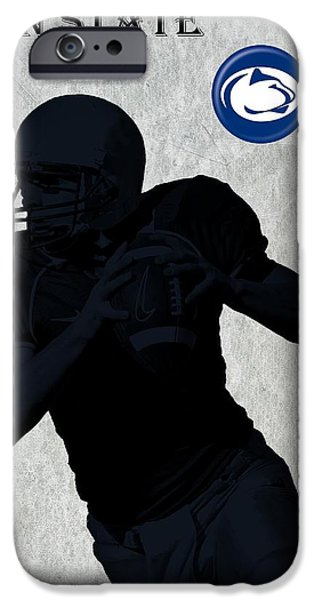 Nebraska iPhone Cases - Penn State Football iPhone Case by David Dehner