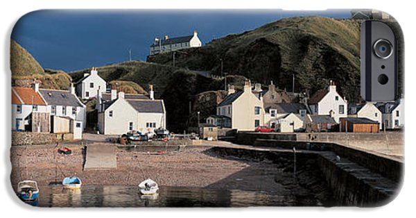 Storm iPhone Cases - Pennan Banffshire Scotland iPhone Case by Panoramic Images