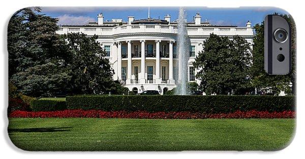 Mr. President iPhone Cases - Pennsylvania Avenue iPhone Case by William Huchton
