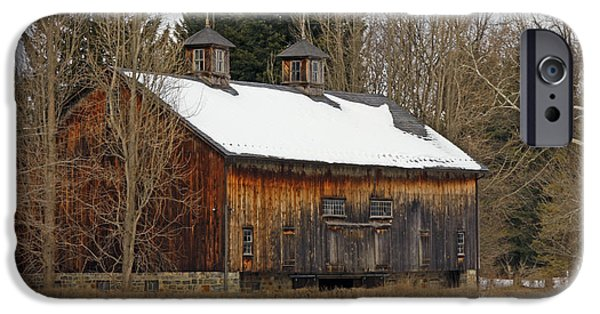 Shed iPhone Cases - Pennsylvania Barn iPhone Case by Marcia Lee Jones