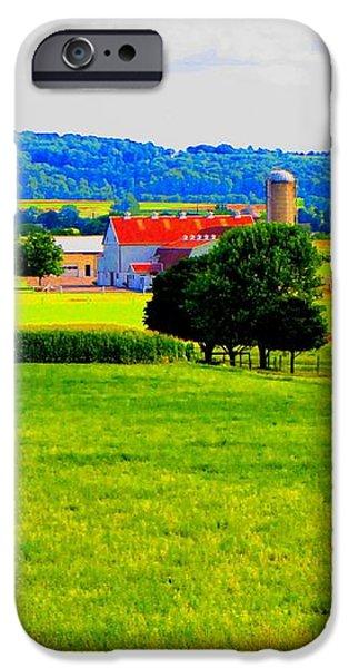 Pennsylvania Farm iPhone Case by Annie Zeno