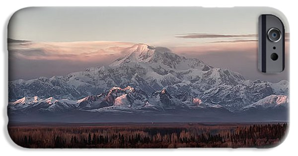 Alaska iPhone Cases - Pensive iPhone Case by Ed Boudreau