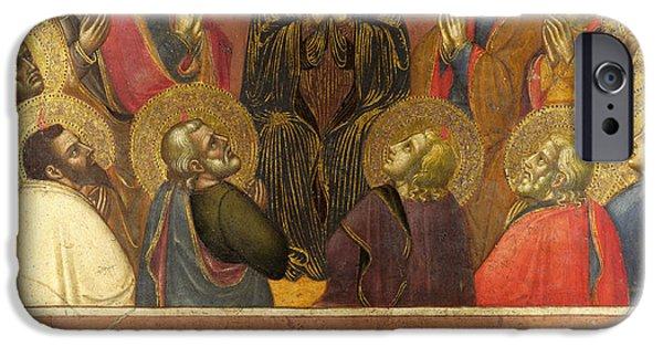 Pentecost iPhone Cases - Pentecost iPhone Case by Barnaba da Modena