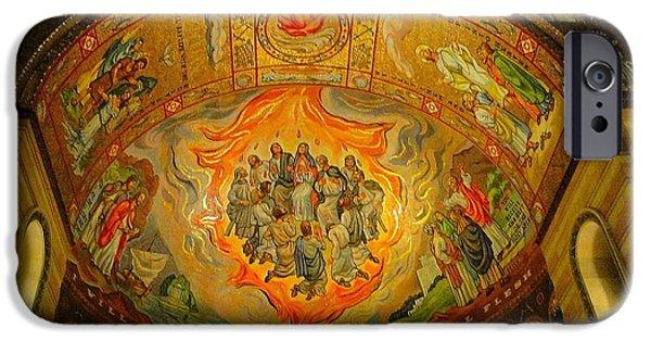 Pentecost iPhone Cases - Pentecost iPhone Case by Cindy Croal
