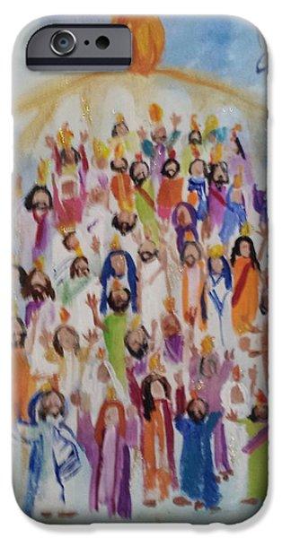 Pentecost iPhone Cases - Pentecost iPhone Case by Paula Stacy Adams