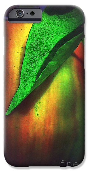 Abstract Digital Photographs iPhone Cases - Pepper Art iPhone Case by Renee Trenholm