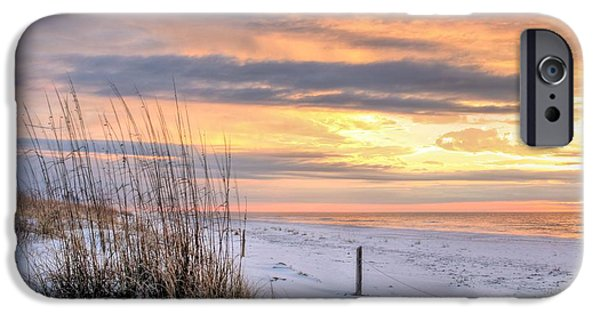 Florida Panhandle iPhone Cases - Perdido on the Gulf iPhone Case by JC Findley