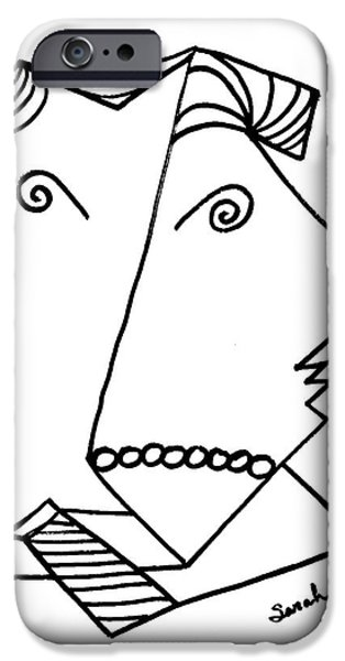 Business Drawings iPhone Cases - Perfect Fit iPhone Case by Sarah Loft