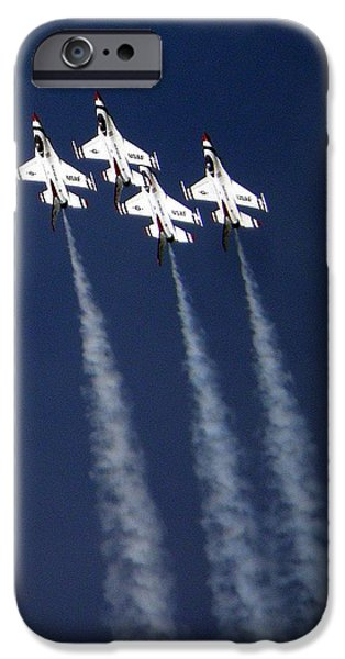 Flight Pyrography iPhone Cases - Perfect Formation iPhone Case by Andrew  Stoffel