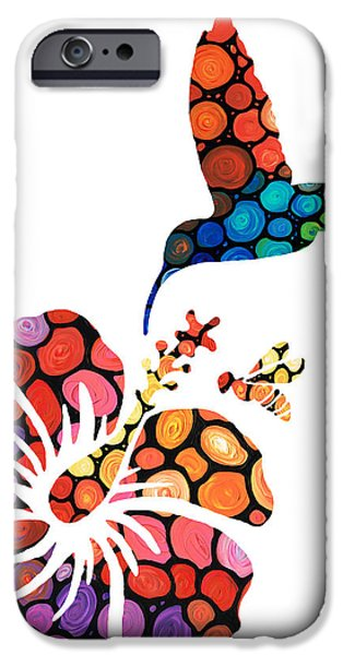 Hibiscus iPhone Cases - Perfect Harmony - Natures Sharing Art iPhone Case by Sharon Cummings