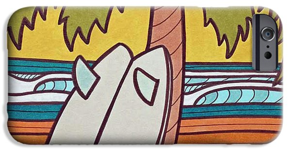 Recently Sold -  - Board iPhone Cases - Perfect Lefts iPhone Case by Joe Vickers