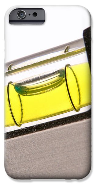 Perfect Level iPhone Case by Olivier Le Queinec