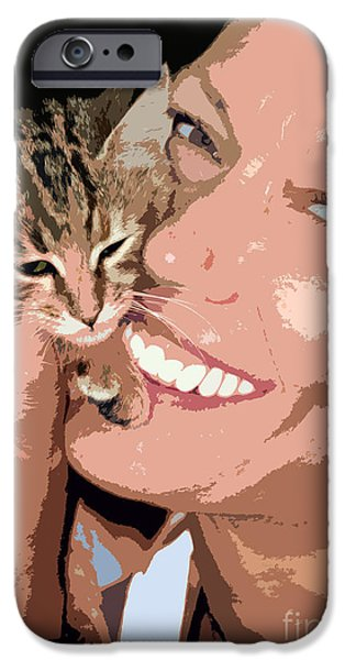 Women Together iPhone Cases - Perfect Smile iPhone Case by Stylianos Kleanthous