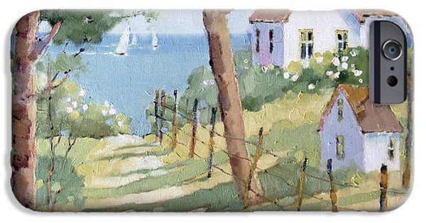 Nantucket iPhone Cases - Perfectly Peaceful Nantucket iPhone Case by Joyce Hicks