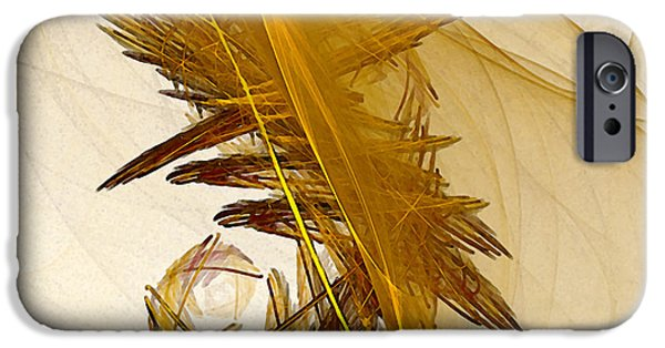 Poetic iPhone Cases - Performance Abstract Art iPhone Case by Karin Kuhlmann