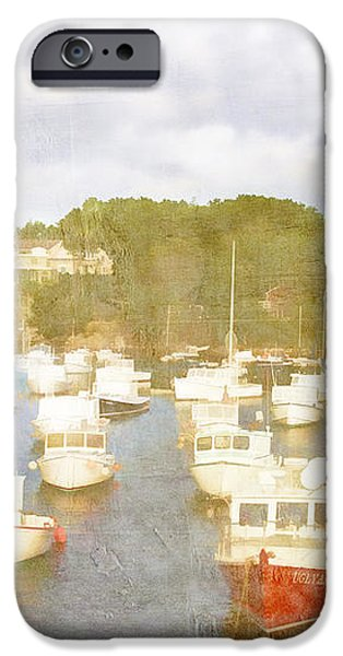 Perkins Cove Lobster Boats Maine iPhone Case by Carol Leigh