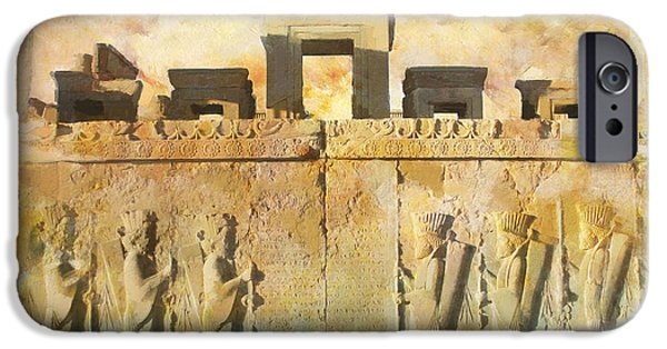 Culture iPhone Cases - Persepolis  iPhone Case by Catf