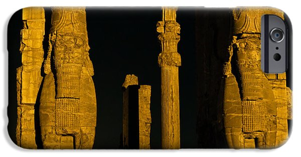 Nation iPhone Cases - Persepolis Gate Of Nations iPhone Case by Babak Tafreshi