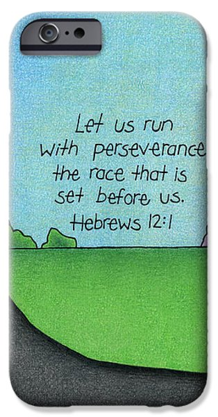 Perseverance iPhone Case by Sarah Batalka