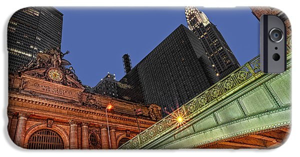 Recently Sold -  - Empire State iPhone Cases - Pershing Square iPhone Case by Susan Candelario