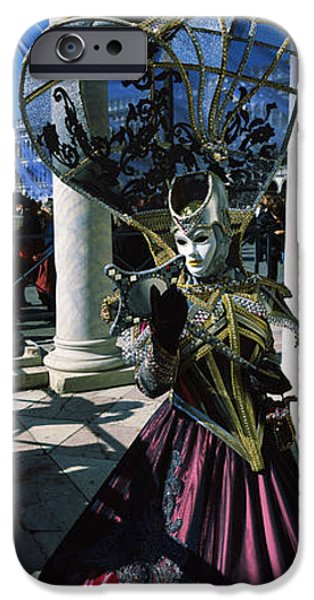 One iPhone Cases - Person In Traditional Costumes iPhone Case by Panoramic Images