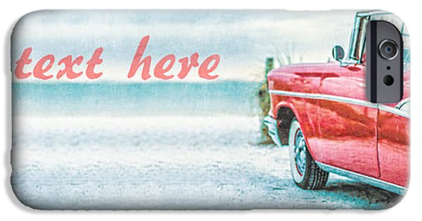 Customized iPhone Cases - Free Personalized Custom Beach Art iPhone Case by Edward Fielding