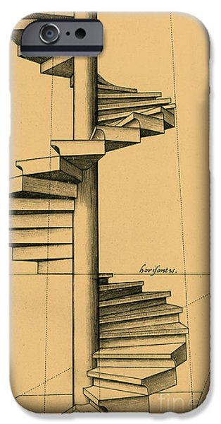 Preparatory Study iPhone Cases - Perspective Study iPhone Case by Spencer Sutton