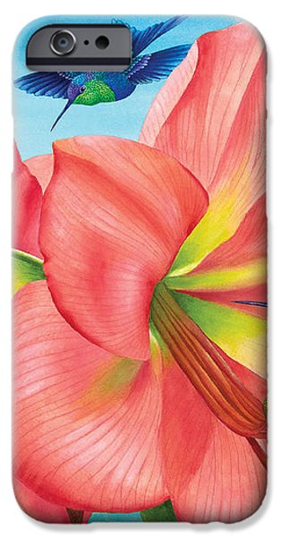 Petal Passion iPhone Case by Carolyn Steele