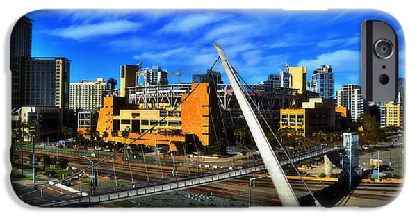 Baseball Stadiums iPhone Cases - Petco Park iPhone Case by See My  Photos