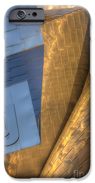 Stainless Steel iPhone Cases - Peter B. Lewis Building V iPhone Case by Clarence Holmes