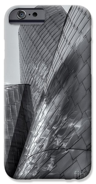 Stainless Steel iPhone Cases - Peter B. Lewis Building X iPhone Case by Clarence Holmes