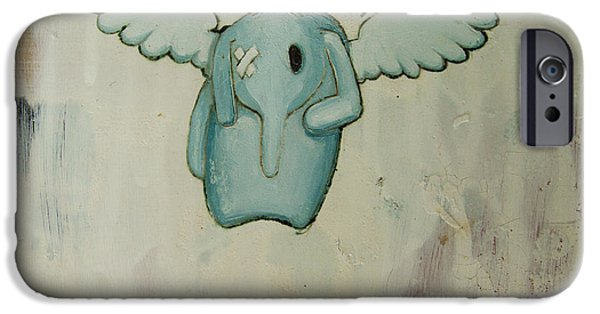 Buy iPhone Cases - Petes Angel iPhone Case by Konrad Geel