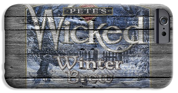 Pete iPhone Cases - Petes Wicked Winter Brew iPhone Case by Joe Hamilton