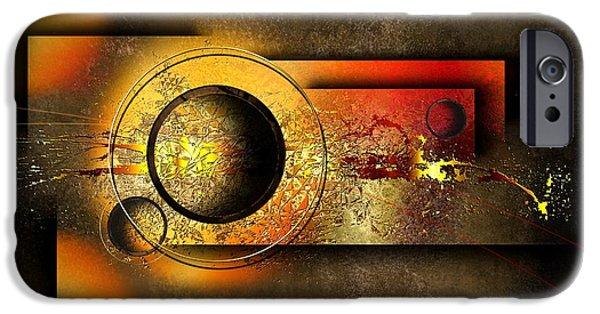 Mosaic iPhone Cases - Petit Espoir Lumineux  iPhone Case by Franziskus Pfleghart