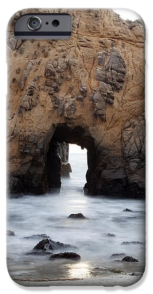 Pfeiffer Beach Arch iPhone Case by Jenna Szerlag