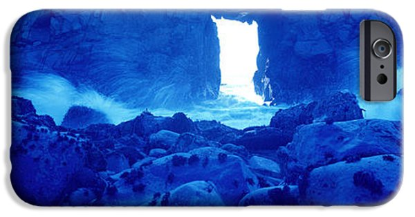 Big Sur Ca iPhone Cases - Pfeiffer State Beach, Big Sur iPhone Case by Panoramic Images