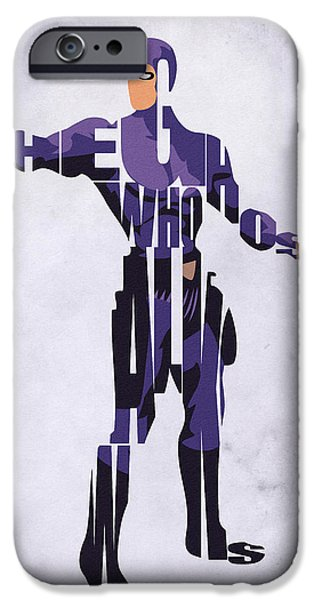 Walker Digital Art iPhone Cases - Phantom iPhone Case by Ayse Deniz