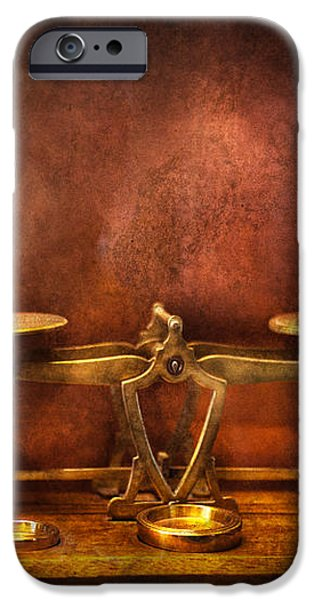 Pharmacy - Balancing Act  iPhone Case by Mike Savad