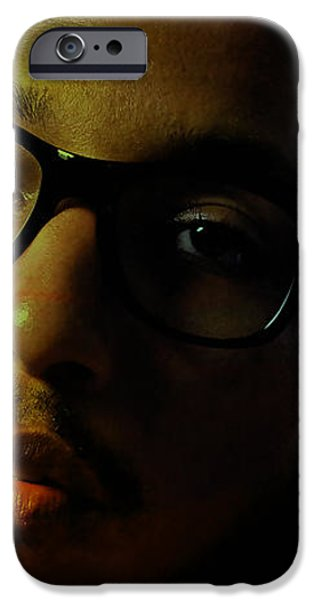 Pharrell Williams iPhone Case by Marvin Blaine